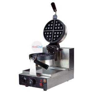Round Rotational waffle maker
