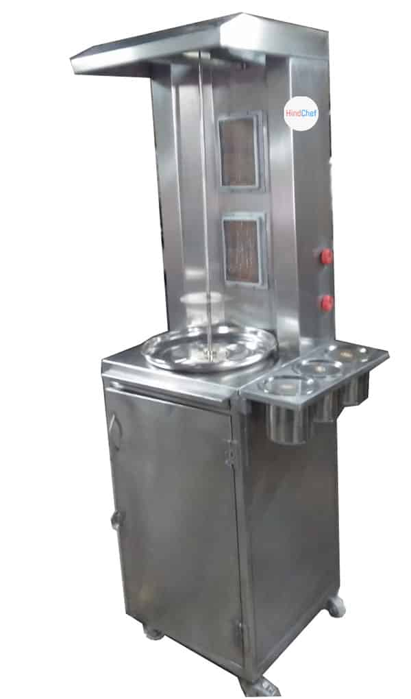customised shwarma machine