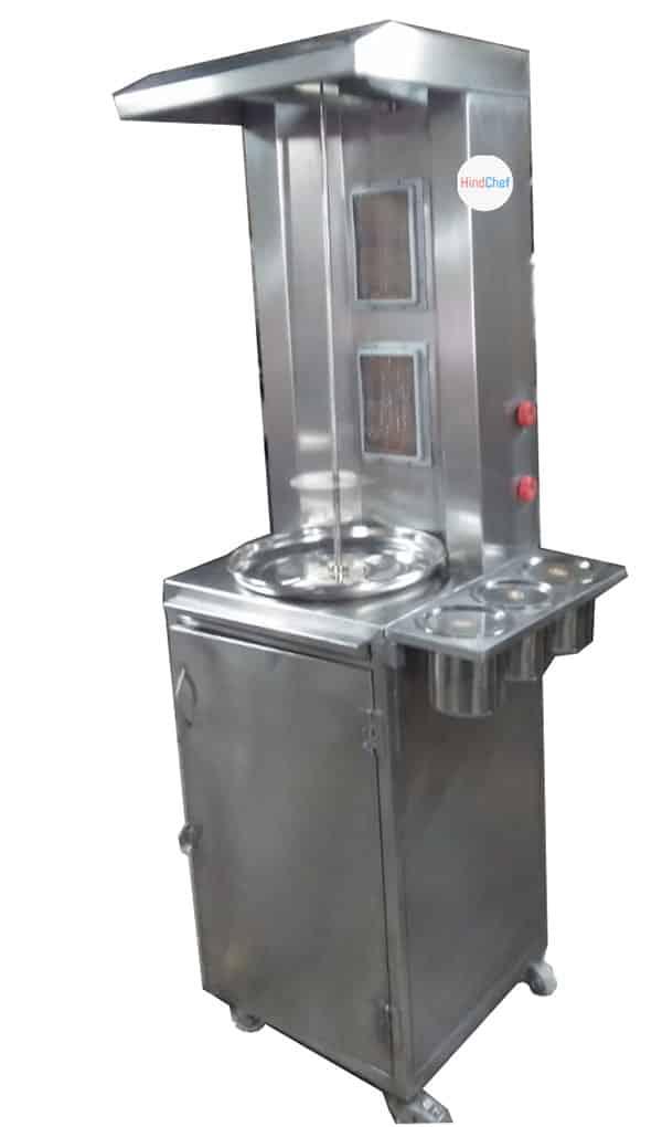 customised shwarma machine