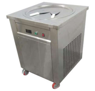ice cream roll machine 50 cms (round)